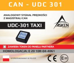 UDC-301 TAXI ASKEN
